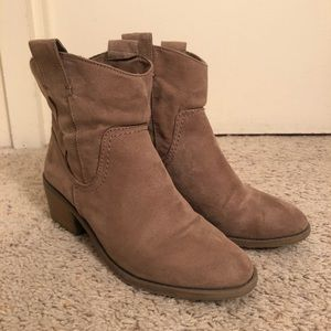 Merona Ankle Cowboy Boots Size 8.5